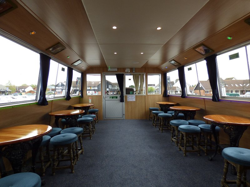 after shot of queen of the broads when work complete