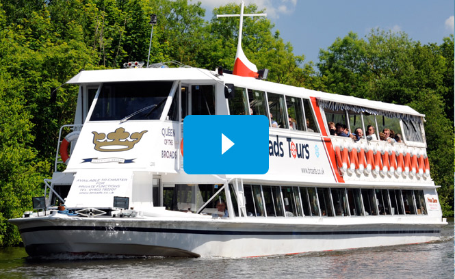 Norfolk Broads Trip Boat Video