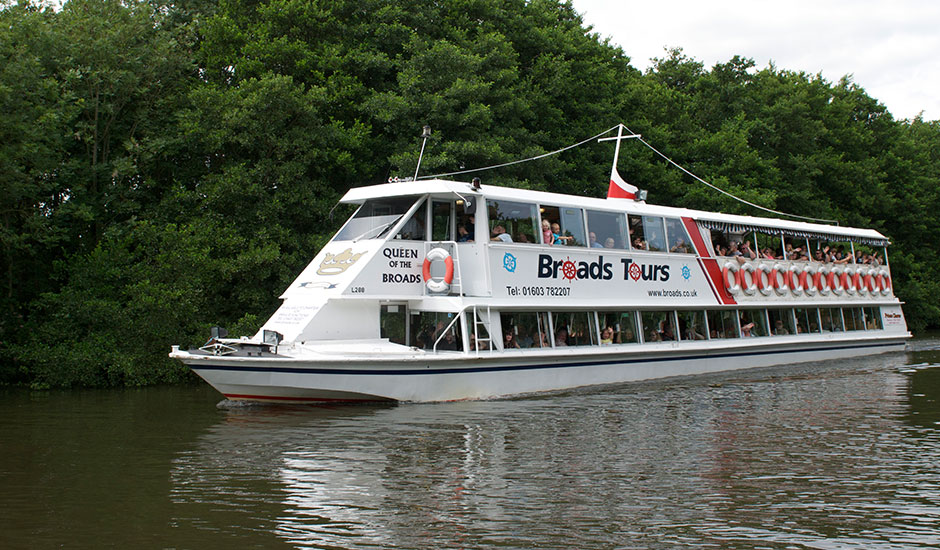 Norfolk Broads Boat Tours