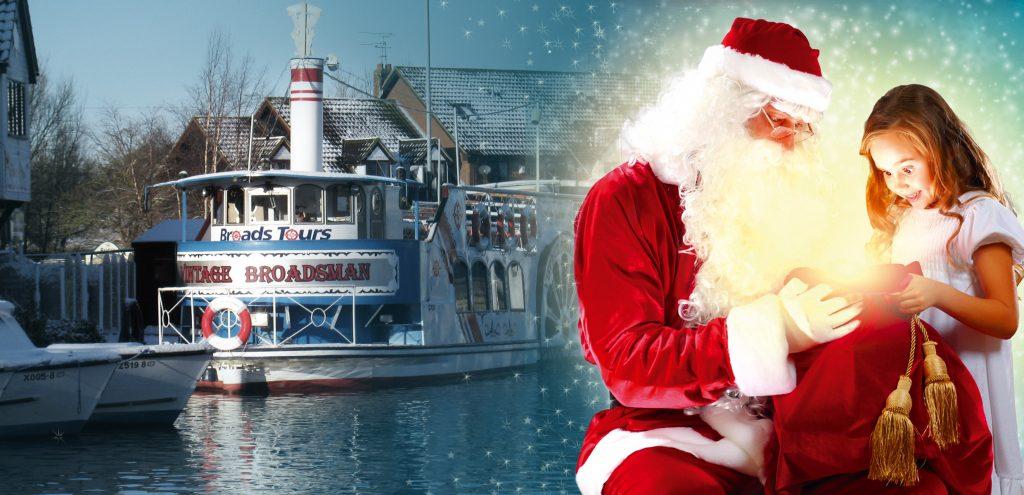 santa cruise river trip banner