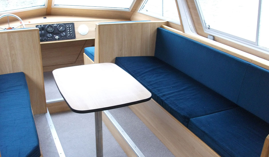 Broads Tours Day Cruiser Internal