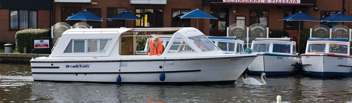 Norfolk Broads Day Cruiser Hire