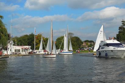 norfolk broads sail boats