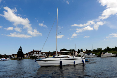 norfolk broads horning