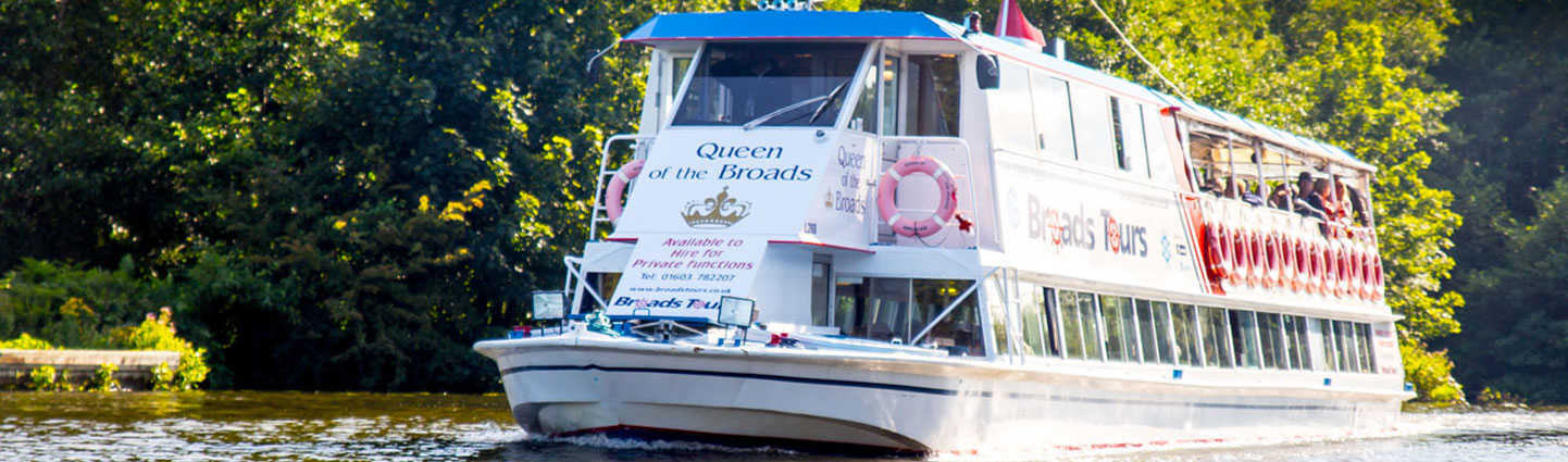 queen of the broads river trips