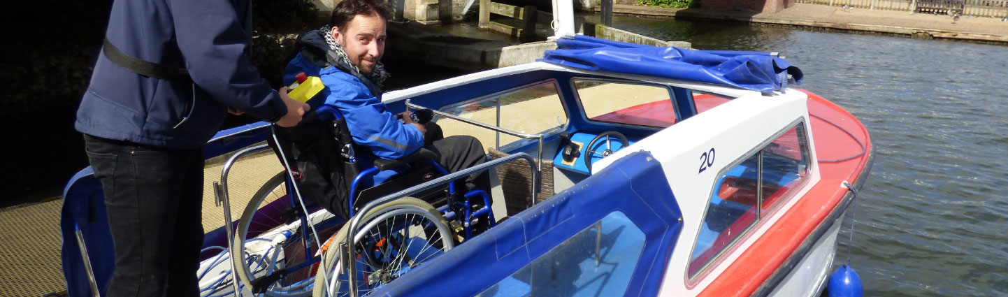 Wheelchair Friendly Dayboat Hire