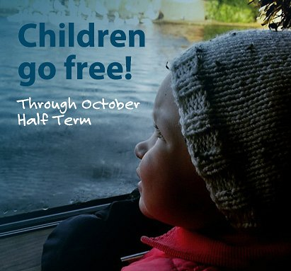 October Half Term – Children go FREE!