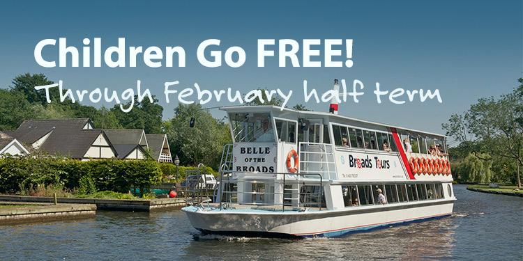 February Half Term, Kids Go FREE!