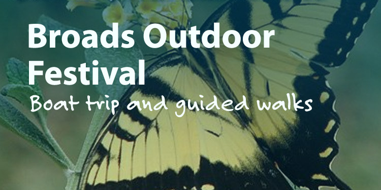 Broads Outdoors Festival Boat Trip and Guided Walk Around Hoveton Great Broads Nature Trail
