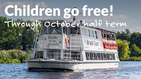 October Half Term, Kids Go FREE!