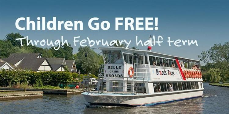 Children Go Free for February Half Term