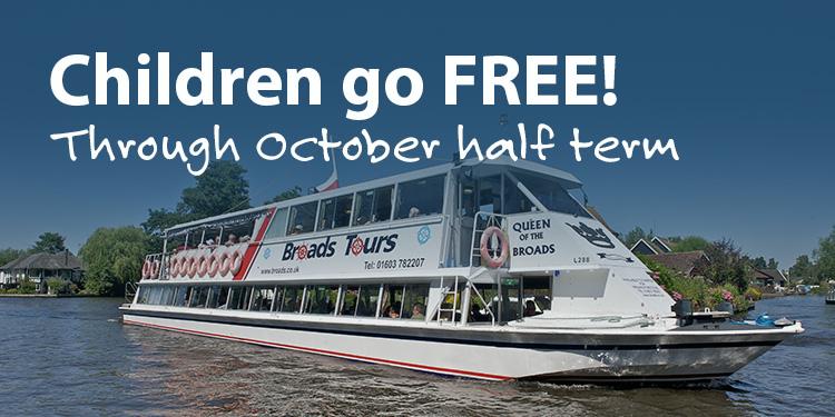 Kids Go Free for October Half Term!
