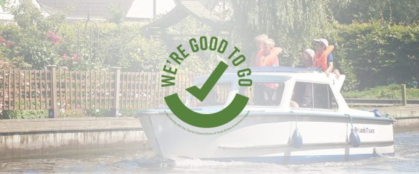 we're good to go banner